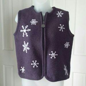 Cabela's wool vest